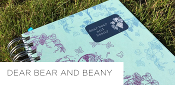 Dear Bear and Beany life planner review