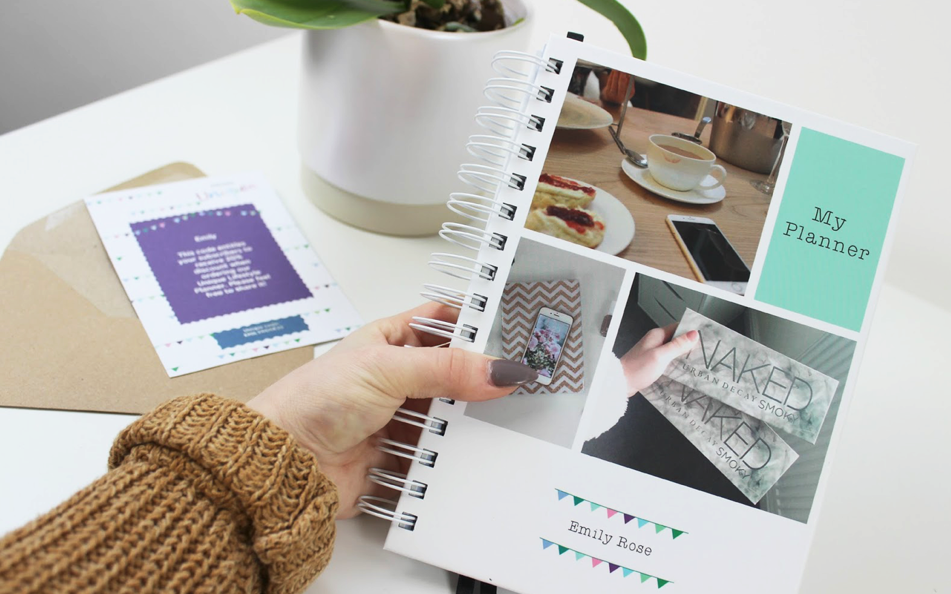 a4 lifestyle personal planner