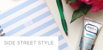 Side Street Style life planner review